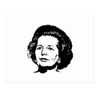 Carte Postale Souvenirs de Margaret Thatcher