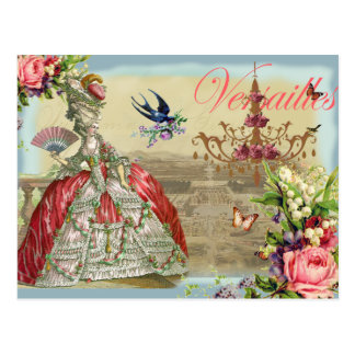 Carte Postale Souvenirs De Versailles