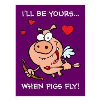 Carte Postale Soyez à moi Anti-Valentine