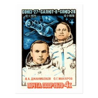 Carte Postale Soyuz 27
