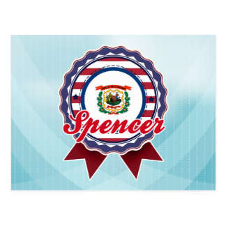 Carte Postale Spencer, WV