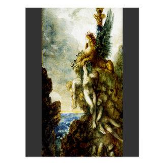 Carte Postale Sphinx victorieux par Gustave Moreau