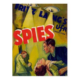 Carte Postale Spies (1928)