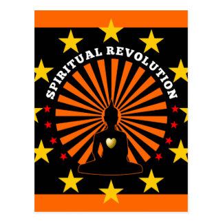 Carte postale spirituelle de révolution