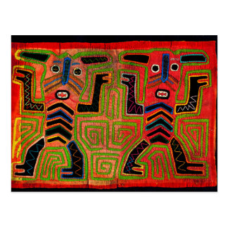 Carte Postale Spiritueux jumeaux indiens de Kuna