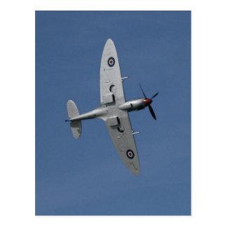 Carte Postale Spitfire en vol.