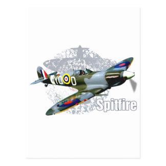 Carte Postale Spitfire Supermarine
