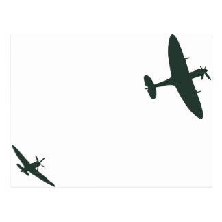 Carte Postale Spitfires de Supermarine