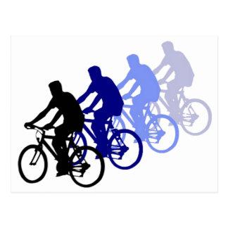 Carte Postale Sport - faire du vélo, faisant un cycle, vélo