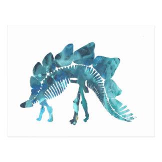 Carte Postale Squelette de Stegosaurus