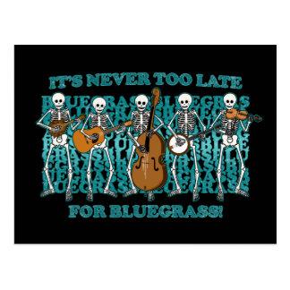 Carte Postale Squelettes de Bluegrass
