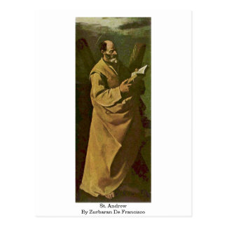 Carte Postale St Andrew par Zurbaran De Francisco