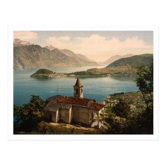 Carte Postale St Angelo, lac Como, Lombardie, Italie de Capello