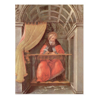 Carte Postale St Augustine en sa cellule
