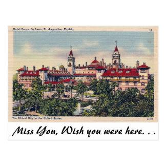 Carte Postale St Augustine, la Floride