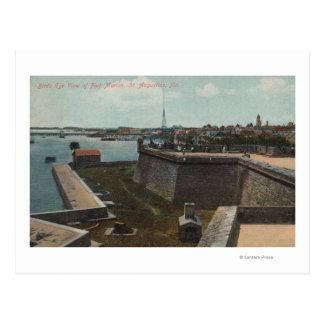 Carte Postale St Augustine, la Floride - antenne de pi Marion
