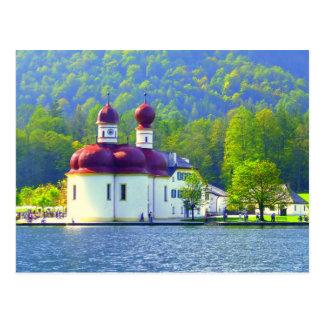 Carte Postale St Bartholomä de Königsee