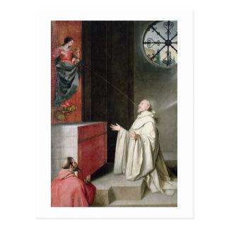 Carte Postale St Bernard et la Vierge