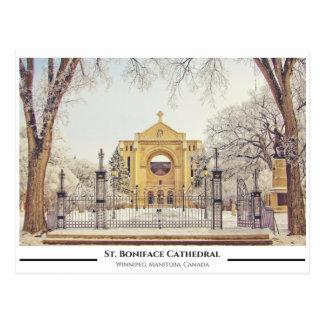 Carte Postale St Boniface Catherdral