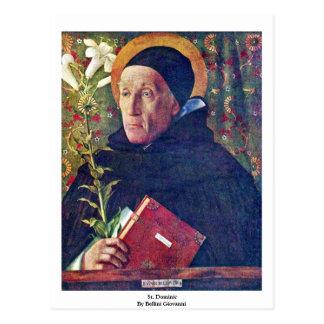 Carte Postale St Dominic par Bellini Giovanni