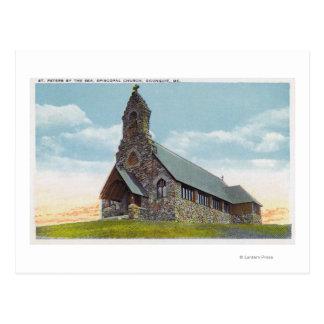 Carte Postale St église épiscopale de Peters-par-le-Mer