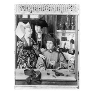 Carte Postale St Eligius en tant qu'orfèvre