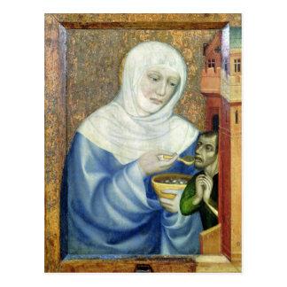 Carte Postale St Elizabeth de la Hongrie