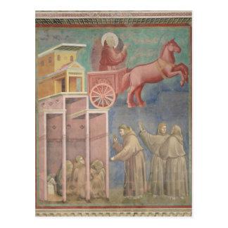Carte Postale St Francis apparaît à ses compagnons