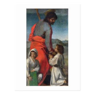 Carte Postale St Jacob, c.1524-29 (huile sur la toile)