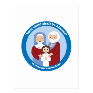 Carte Postale St Joachim et St Anne