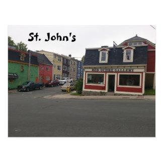 Carte Postale St John
