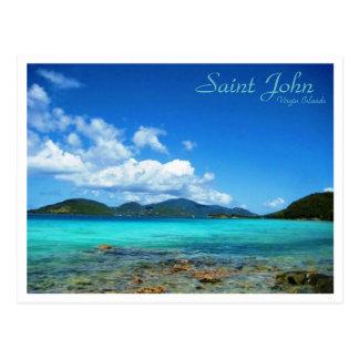 Carte Postale St John Îles Vierges
