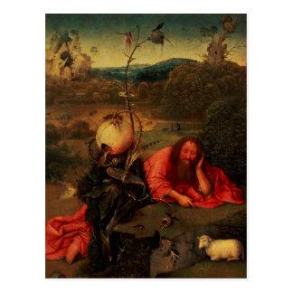 Carte Postale St John le baptiste dans la méditation