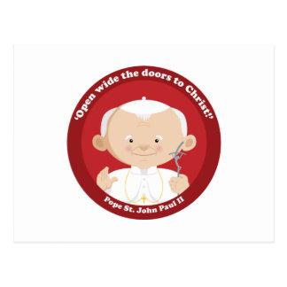 Carte Postale St John Paul II