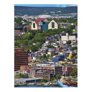 Carte Postale St John, Terre-Neuve, Canada,