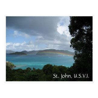 Carte Postale St John, USVI