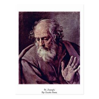 Carte Postale St Joseph par Guido Reni