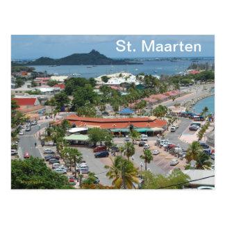 Carte Postale St Maarten - baie de Marigot