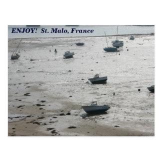 Carte Postale St Malo, France