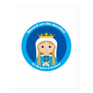 Carte Postale St Margaret de l'Ecosse