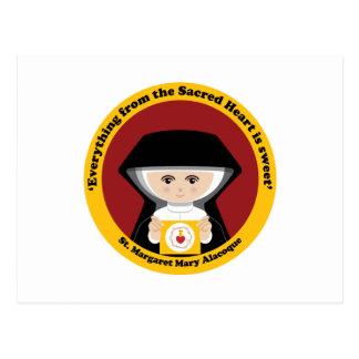 Carte Postale St Margaret Mary Alacoque