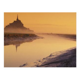 Carte Postale St Michel de la FRANCE, Normandie Mont. Lumière de