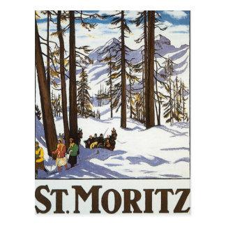 Carte Postale St Moritz