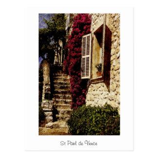 Carte Postale St Paul de Vence, Provence, France