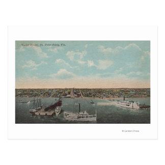 Carte Postale St Petersburg, FL - vue de bord de mer avec