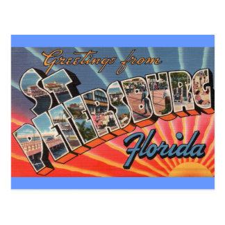 Carte Postale St Petersburg la Floride