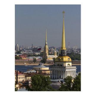 Carte Postale St Petersburg, Russie