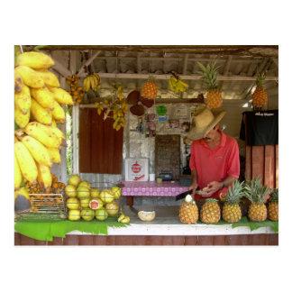 Carte Postale Stalle de fruit