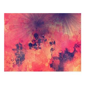 Carte Postale Stardust in pink sky