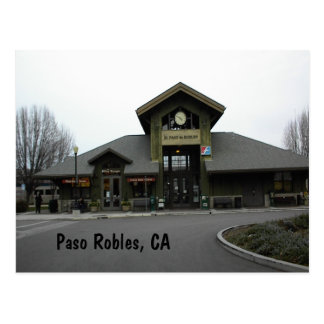 Carte postale : Station de train de Paso Robles en